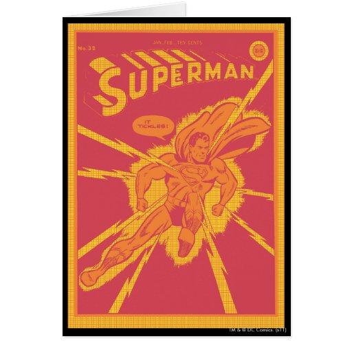 Aligerando pega al superhombre tarjetas
