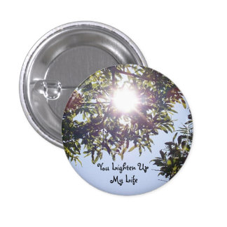 Aligere para arriba mi botón de la vida pin redondo de 1 pulgada