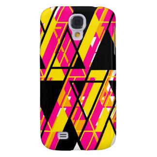 Align Graphic Design Bright Samsung Galaxy S4 Case