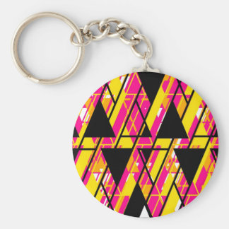 Align Graphic Design Bright Keychain