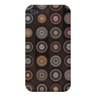 Aligned Circles iPhone 4/4S Case