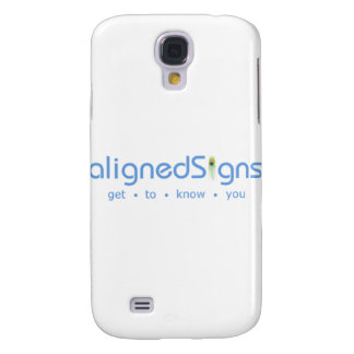 Aligned Signs Samsung Galaxy S4 Cases