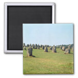 Alignment of standing stones, Megalithic Refrigerator Magnet