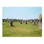 Alignment of standing stones, Megalithic Post Card