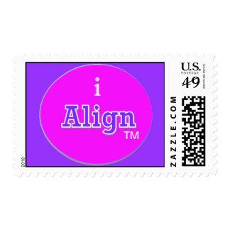 Alignment stamp