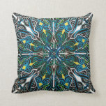 Alignment Throw Pillow by Meghan Oona