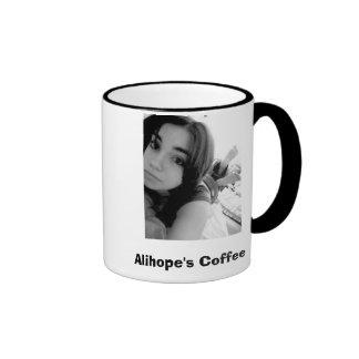 Alihope's Coffee Ringer Mug