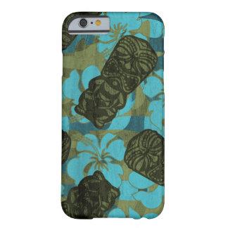 Ali'i Refuge Hawaiian Hibiscus Tiki Barely There iPhone 6 Case