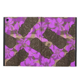 Ali'i Refuge Hawaiian Hibiscus Tiki iPad Air Covers