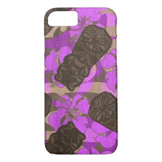 Ali'i Refuge Hawaiian Hibiscus Tiki iPhone 7 Case
