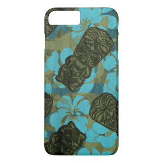 Ali'i Refuge Hawaiian Hibiscus Tiki iPhone 7 Plus Case