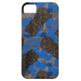 Ali'i Refuge Hawaiian Hibiscus Tiki iPhone SE/5/5s Case