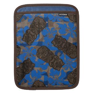 Ali'i Refuge Hawaiian Hibiscus Tiki Sleeve For iPads