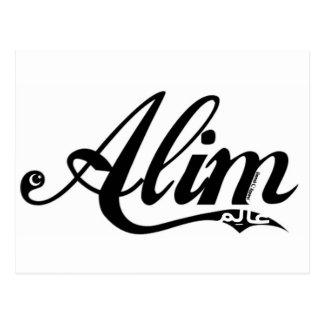 Alim Postcard