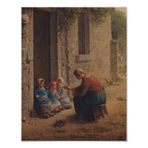 Alimentación de los jóvenes, 1850 impresiones