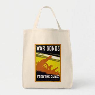 Alimentación del ~ de los enlaces de guerra los ar bolsa de mano