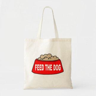 Alimentación roja del cuenco de la comida de perro bolsas de mano
