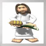 Alimentaciones de Jesús Poster