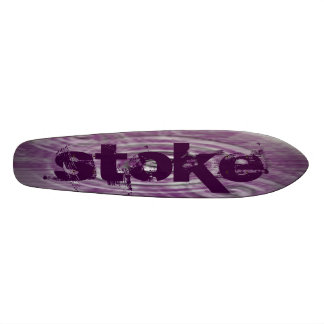 Alimentado Tabla De Skate