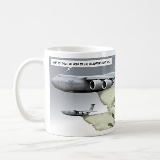 alimentado taza básica blanca