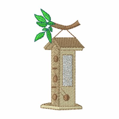 Alimentador del pájaro sudadera con capucha
