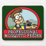 Alimentador profesional Mousepad del mosquito Tapete De Ratón