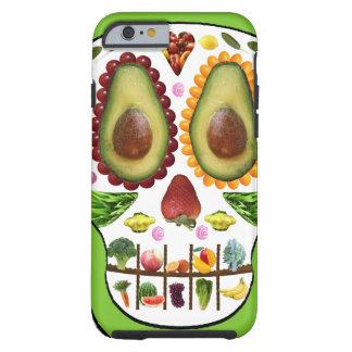 Alimente a su caso del iPhone 6 del cráneo el caso Funda Para iPhone 6 Tough