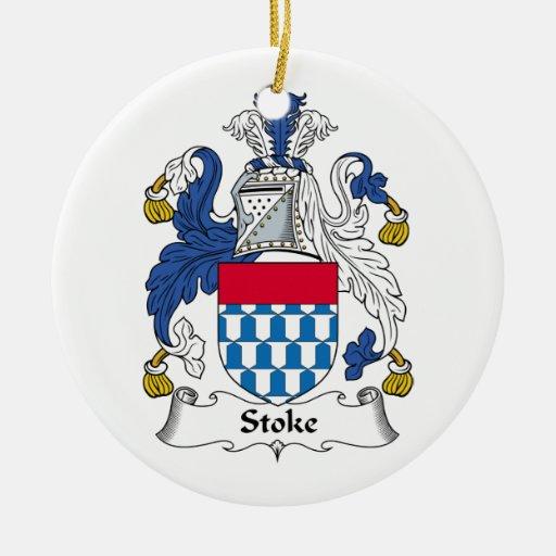 Alimente el escudo de la familia ornamento para reyes magos