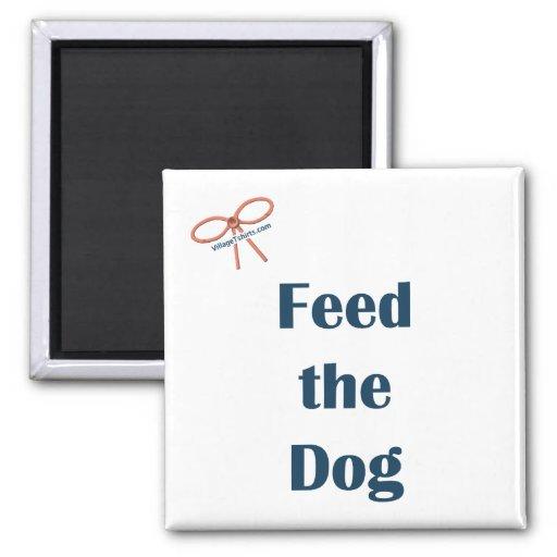 Alimente el imán del recordatorio del perro