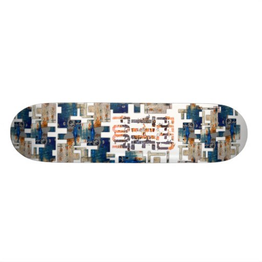 Alimente el monopatín del pie skate board