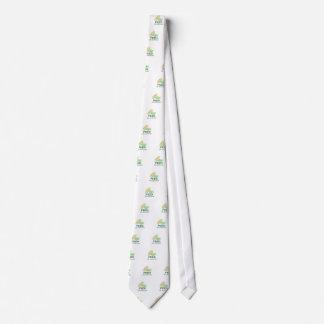Alimente la multitud corbata personalizada