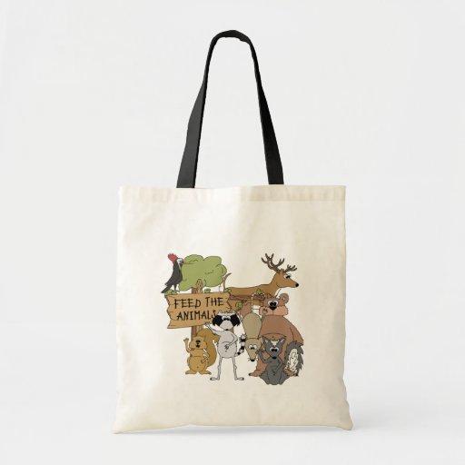 Alimente los animales bolsa