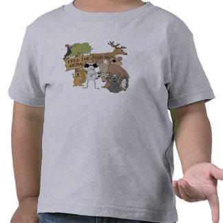 Alimente los animales camiseta