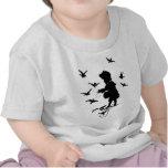 Alimente los pájaros camiseta