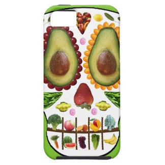 Alimente su caso duro del iphone 5 del cráneo iPhone 5 cobertura