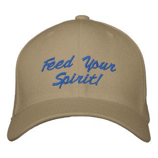 Alimente su casquillo del alcohol gorras bordadas