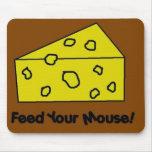 Alimente su ratón tapete de ratón