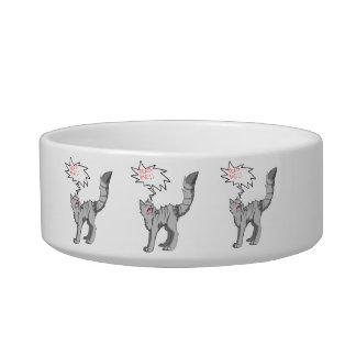 ¡Aliménteme! Cuenco Tazones Para Gatos