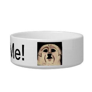Aliménteme el plato del perro tazones para agua para gatos