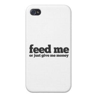 Aliménteme iPhone 4 Funda