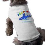 Aliménteme la camisa del mascota camisetas de mascota