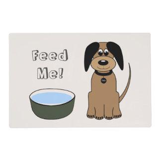 """Aliménteme"" la estera del alimento para animales Tapete Individual"