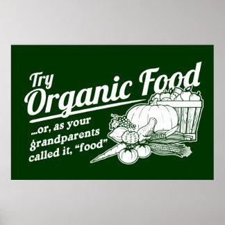 """Alimento biológico - sus abuelos lo llamaron la """"c póster"""