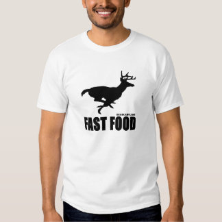 Alimentos de preparación rápida camisas
