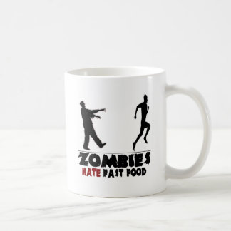 Alimentos de preparación rápida de los zombis dive taza