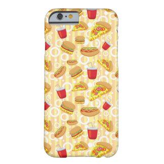 Alimentos de preparación rápida funda de iPhone 6 barely there