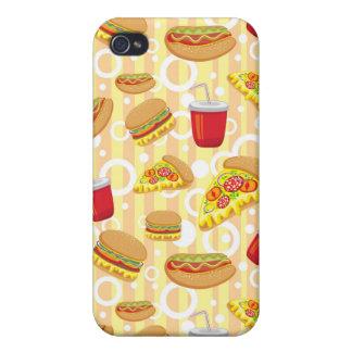 Alimentos de preparación rápida iPhone 4/4S carcasas