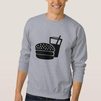 Alimentos de preparación rápida - hamburguesa sudadera