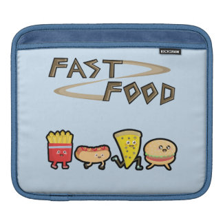 Alimentos de preparación rápida manga de iPad