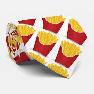 Alimentos de preparación rápida, patatas fritas corbatas personalizadas